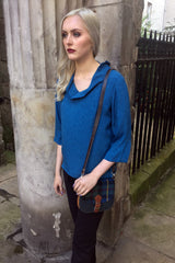 Sketch London Harris Tweed & Leather Bag Ethical Fashion Women