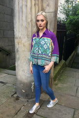 Sketch London Scarf Print Shirt Ethical Fashion Women