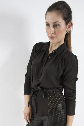 Cherie Blouse, Black