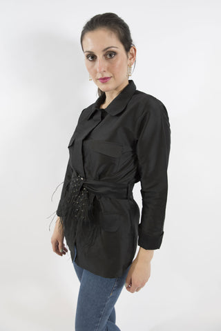Gazelle Jacket, Black