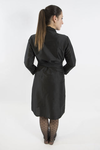 Gazelle Trench Coat, Black