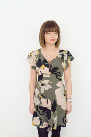 Belle Sweetheart Dress, Camouflage