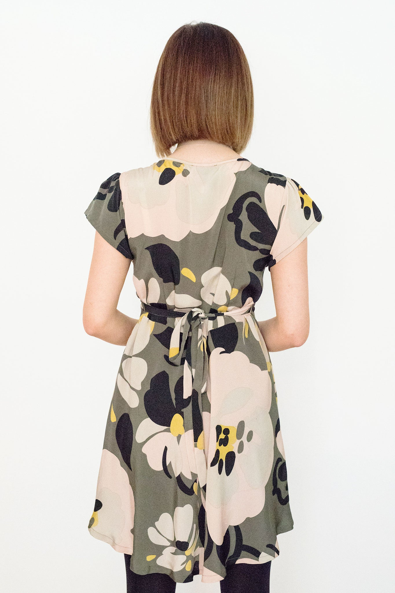 Sketch London Fashion Dress Women Camouflage Print Tea Dress Wedding Guest