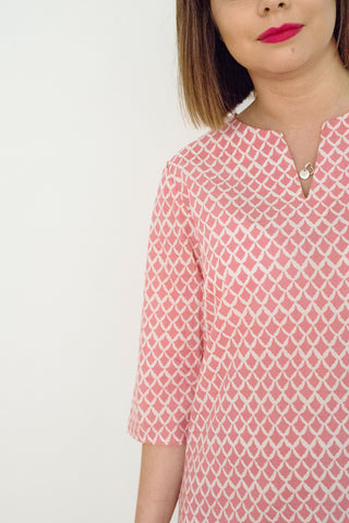 Rose Tiles Issy Tunic
