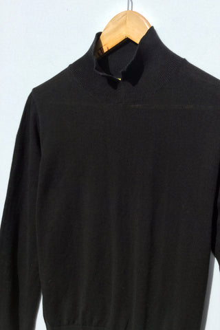 Grace Polo Neck, Black