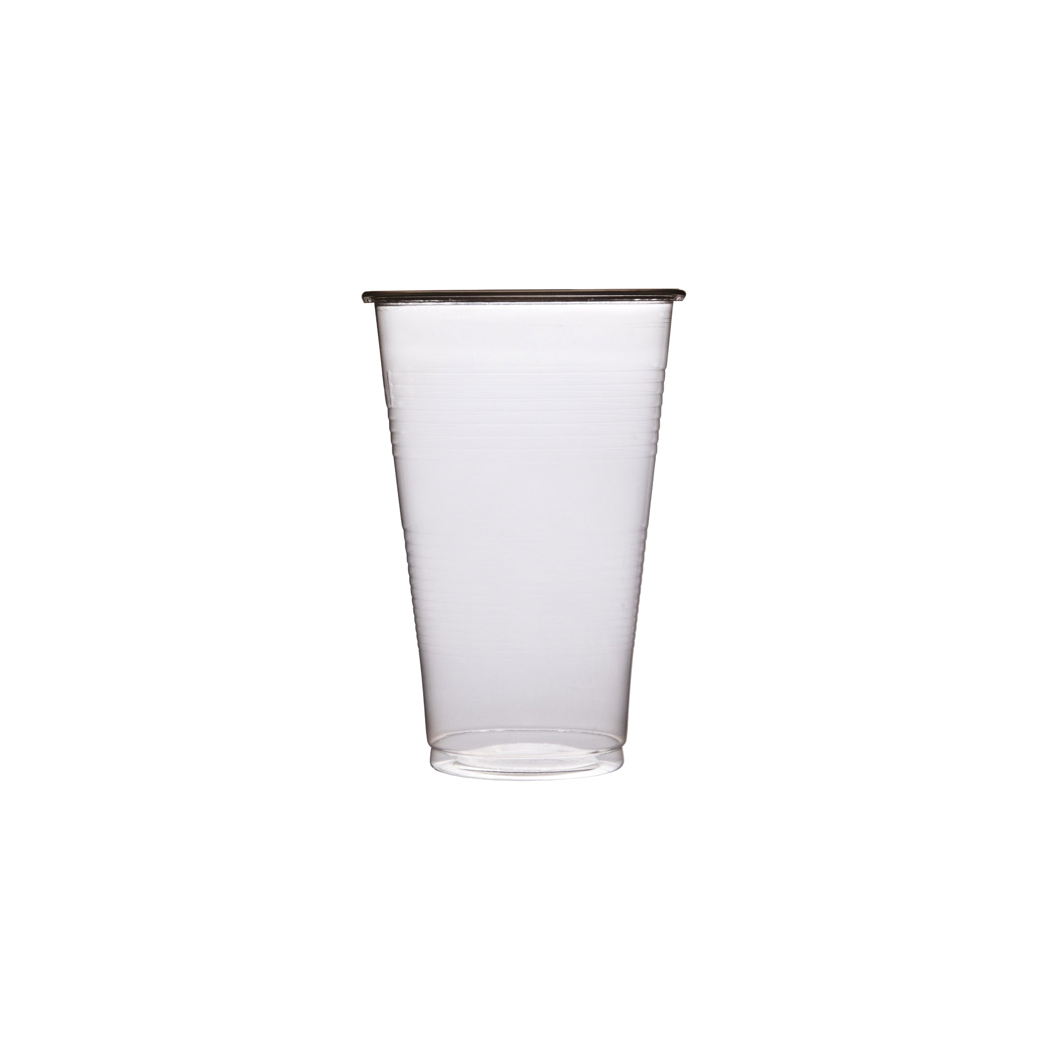 DISPOSABLE HALF PINT PLASTIC CUP 25