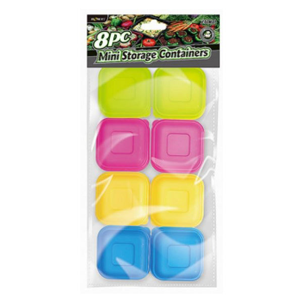 PLASTIC CONTAINER 8 PCS