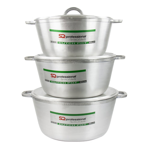 ALUMINIUM COOKWARE 3 PCS SET