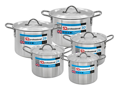 GALAXIS RANGE- 5PC ALUMINIUM ORION CASSEROLE SET