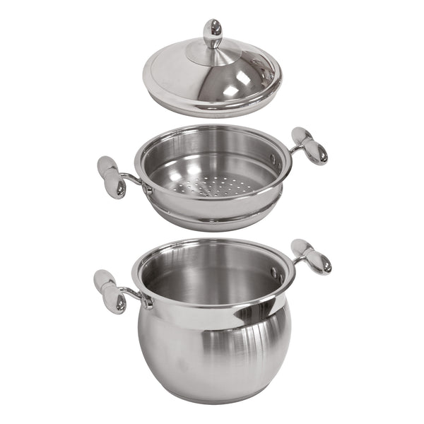 STAINLESS STEEL POT 3 PCS