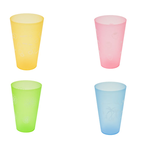 COLOURFUL PLASTIC GLASS 1 PC
