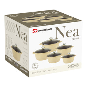 SQ PRO NEA NATURA DIE CAST POT SET