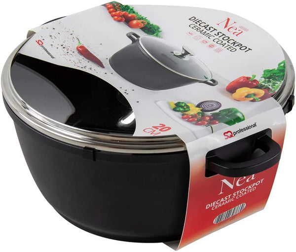 NEA RANGE - DIE CAST SERAMIC STOCKPOT (MEDIUM)