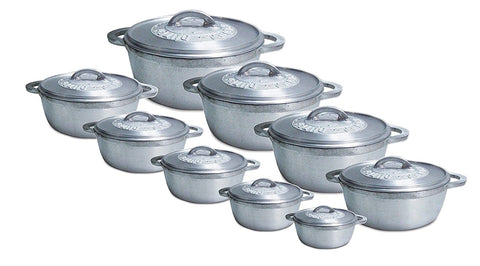 DUTCH POT ALUMINIUM CASSEROLE OVEN