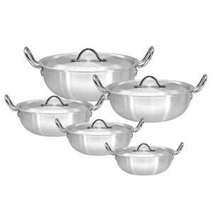 ALUMINUM POT SET 5 PC