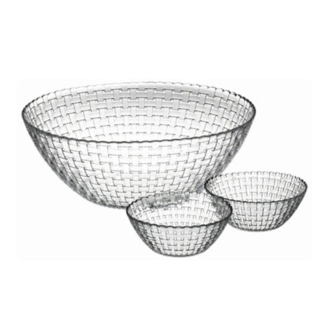 HIGH QUALITY GLASS BOWL 3 PCS