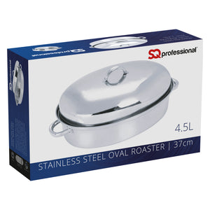 STAINLESS STEEL OVAL ROASTER