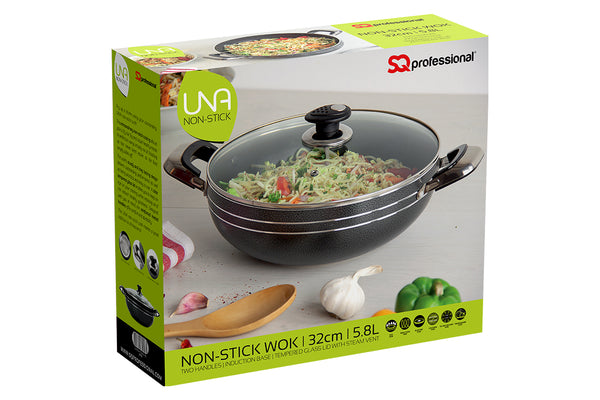 2 HANDLE WOK SET