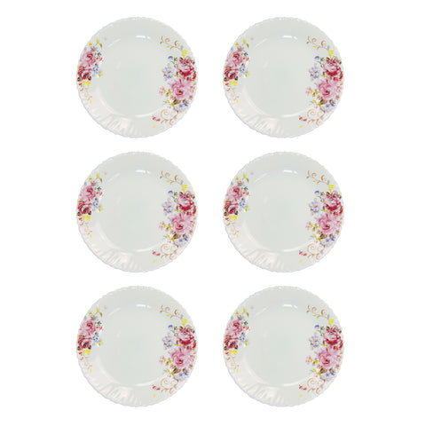 6PCS PLATE SET CROCKERY
