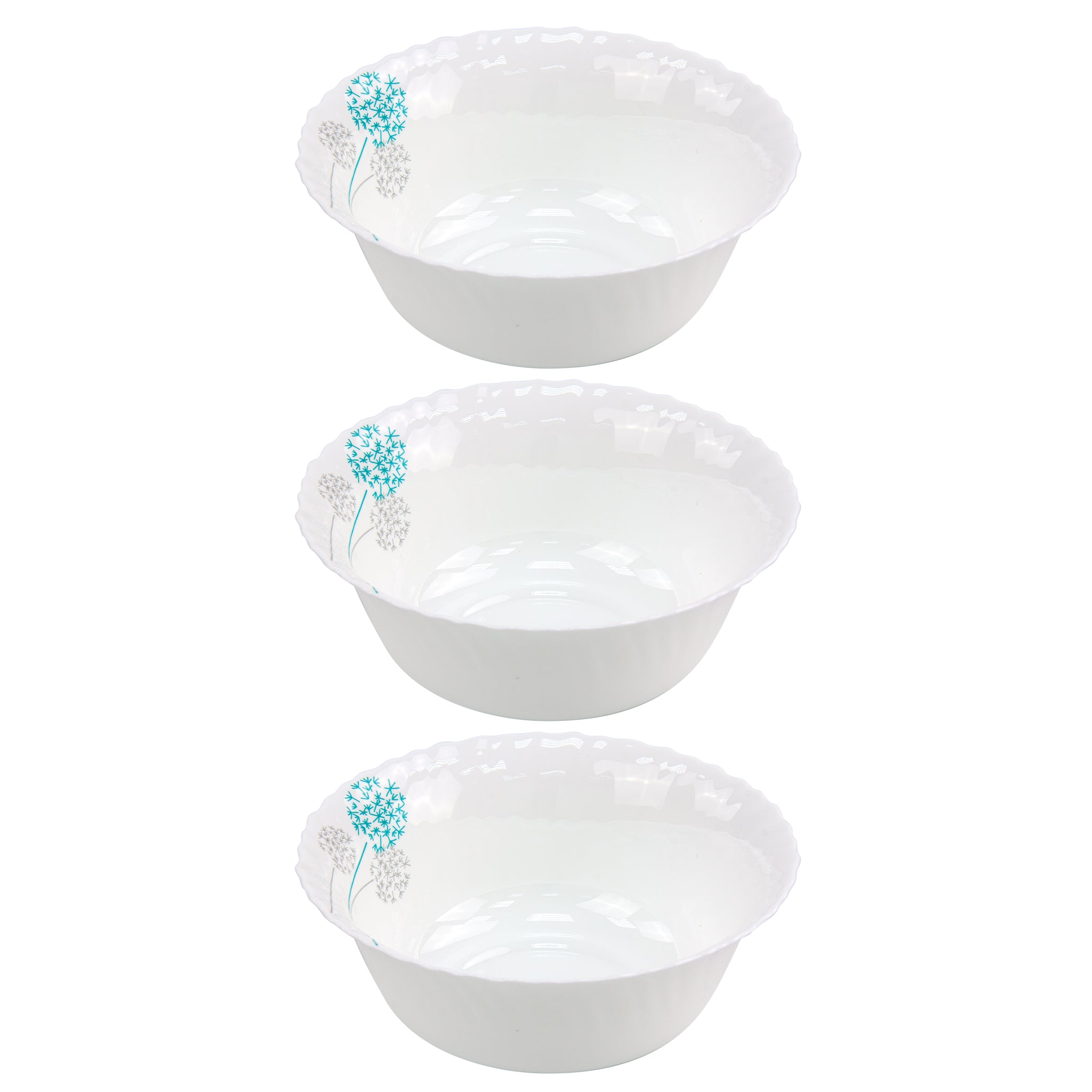 3PCS BOWL SET CROCKERY