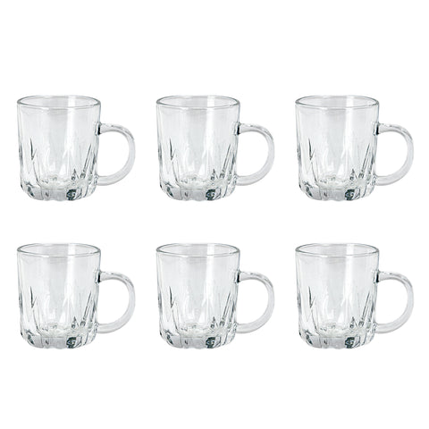 HIGH QUALITY GLASS 6 PCS