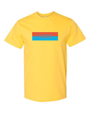 Yellow T-Shirt with Foddy Indianapolis Logo