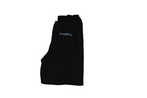Foddy Black  baggy sweatpants for indianapolis dreamers