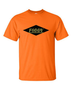 Orange T-Shirt with Foddy Indianapolis Logo
