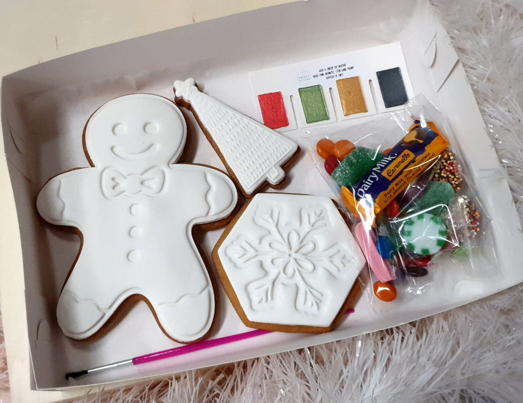 Paint-Your-Own Christmas Cookies