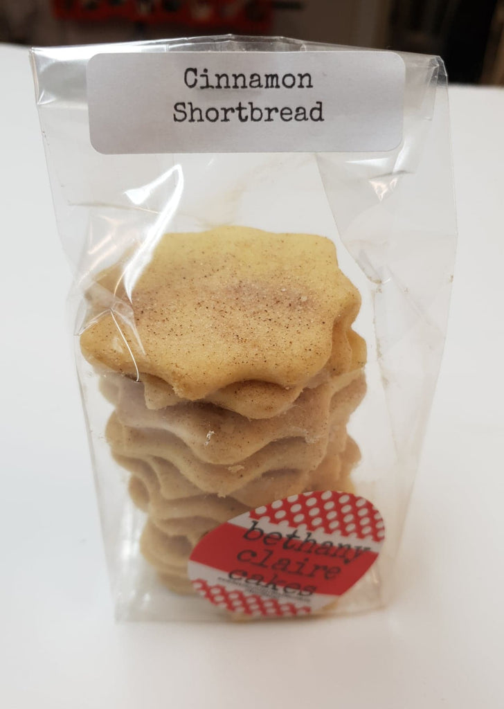 Vanilla or Cinnamon Shortbreads