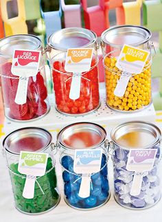 Mini Candy Paint Buckets