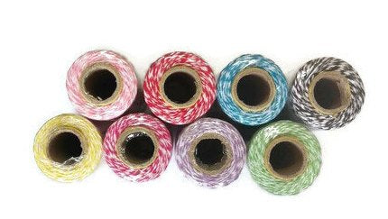 Bakers twine in 8 colours 120 metres