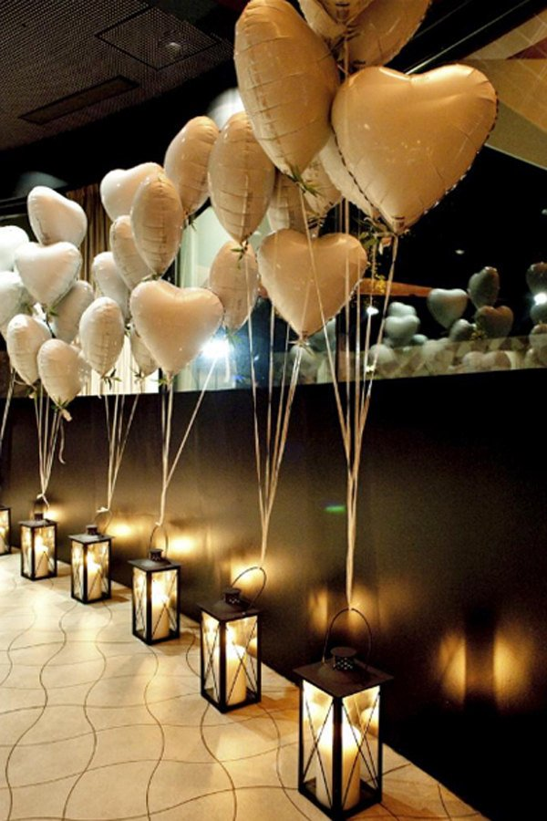 18 Inch Heart rose gold balloon