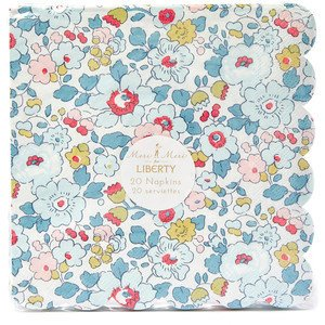 Liberty Betsy Scalloped Napkins