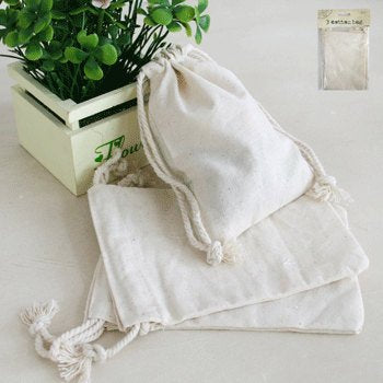 Cotton favour bags