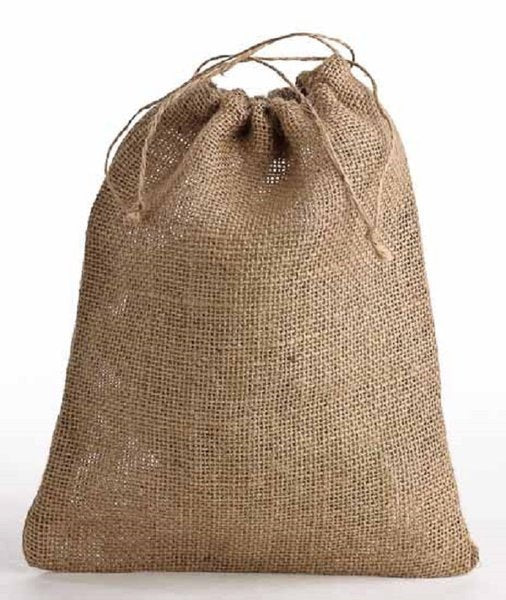Mini hessian bags