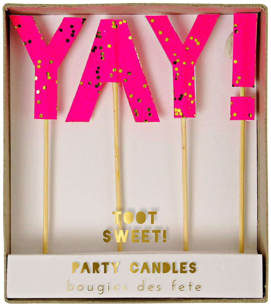 Meri Meri YAY Candles