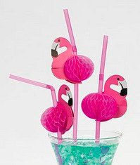 Flamingo table decoration