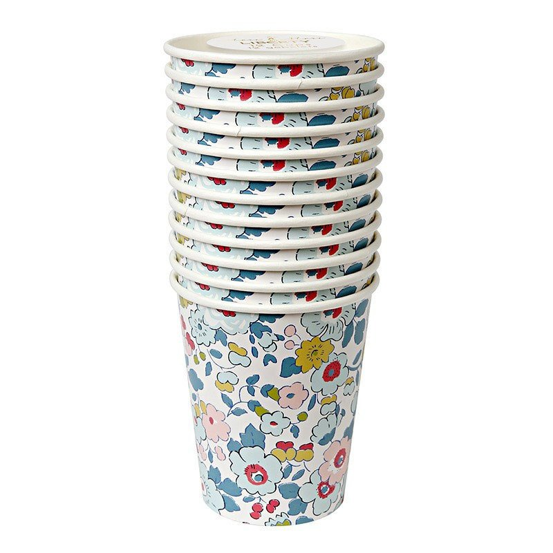 Liberty Betsy Floral Cups