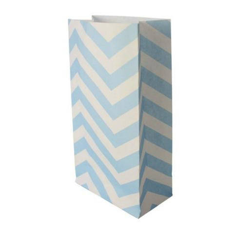 Blue and White Robert Gordon Paper Loot Bags