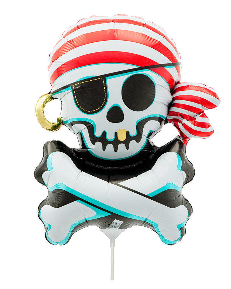 Skull and Crossbones Pirate Balloon