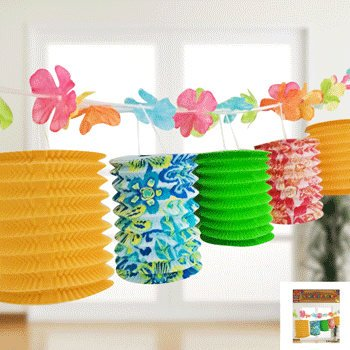 Tropical Lantern Garland