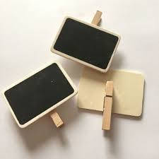 Rectangle Mini Clip Chalkboards