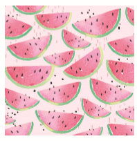 Pink Watermelon Napkins