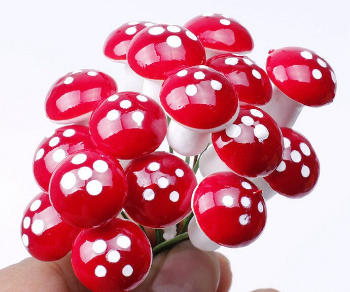 Mini Red and White Toadstools