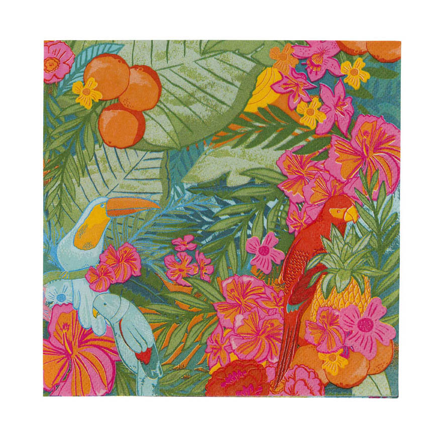 Tropical Jungle Napkins