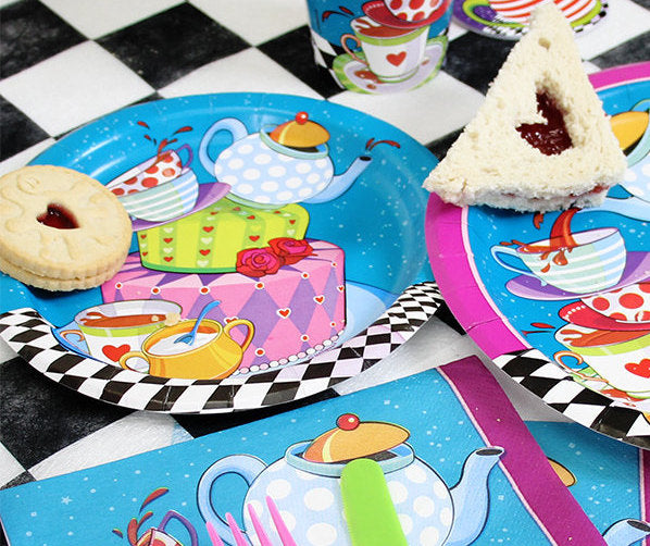 Mad Hatter Paper Plates