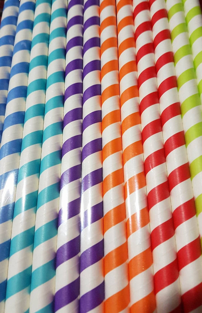 Bright Fat Straws