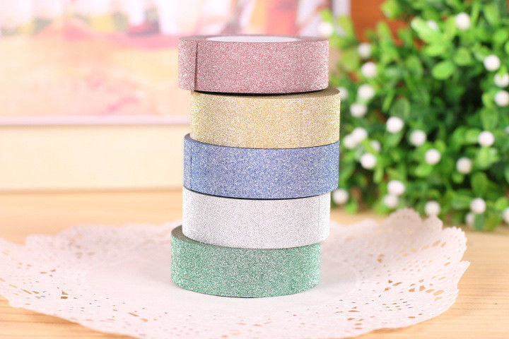 4 pack Glitter Washi Tape