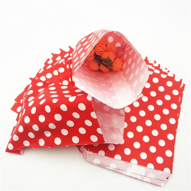 Red and White Polka Dot Bags